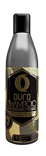 Ouro Toning Shampoo (Matizador) for blonde & silver hair 8.45 oz