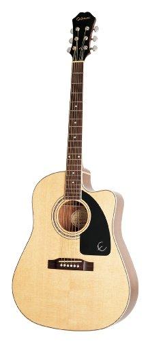 UPC 711106300962, Epiphone AJ-200SCE Jumbo Acoustic-Electric Guitar, Natural