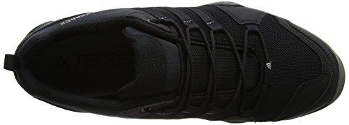 adidas Terrex Ax2r, Zapatos de Senderismo Hombre Negro (Negbas/negbas/grivis)