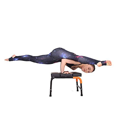 Sports Fitness Yoga Inverted Chair Stretching Frame Multi-Function Inverted Auxiliary Exercise Device Home Inverted Health Sofa Stool Fitness Chair (Load: 150kg) Exercise Ball Chairs by PHSP (Image #1)