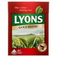 Lyons Gold Blend 80 Bags (4 Pack)