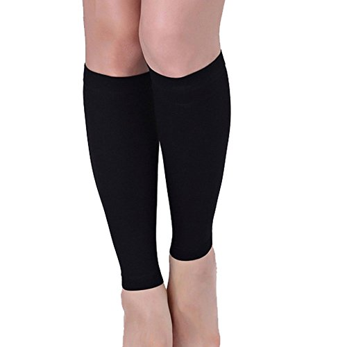 Xfome Style Women Slimming Calf Muscles Shaper Compression Sleeve Elastic Shank legs to Burn Fat