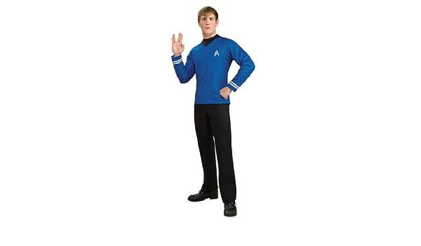 UMM 560883 pel-cula de Star Trek Deluxe Camisa azul traje adulto ...