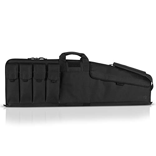 "Savior Equipment The Patriot 45"" Single Rifle Gun Tactical Bag - Obsidian Black"
