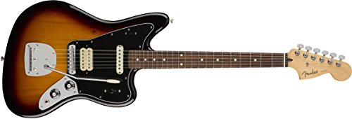 Fender Jaguar Bass Sunburst - Fender Player Jaguar Electric Guitar - Pau Ferro Fingerboard - 3 Color Sunburst