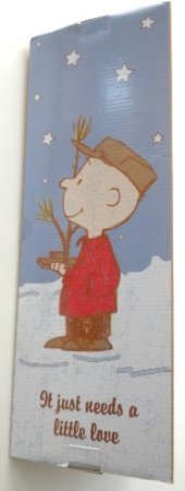 The Original Peanuts Charlie Brown Christmas Tree 24'' Tall ''It Just Needs A Little Love''
