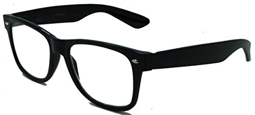 Nice Looking Retro Reading Glasses for Both Men & Women/Black/2.25