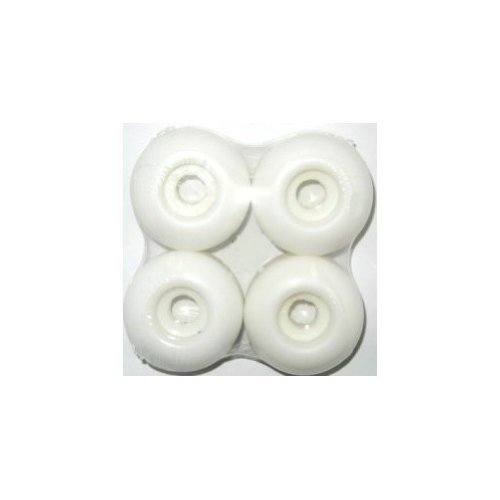 Blank Skateboard Wheels, 50mm, White 50 Mm Skateboard Wheels
