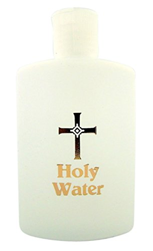 (Holy Water Bottle with Flip Spout, 4 Oz)