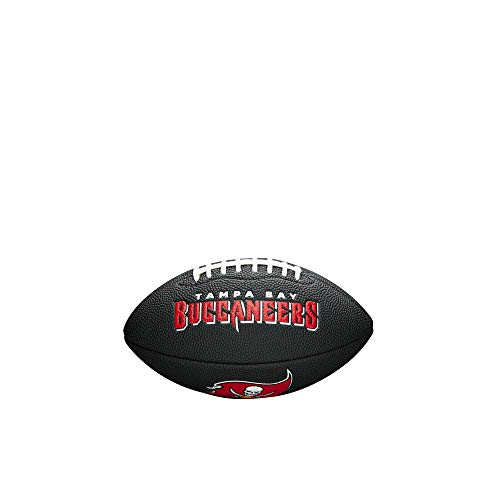 Nfl Team Logo Football - NFL Team Logo Mini Football, Black - Tampa Bay Buccaneers