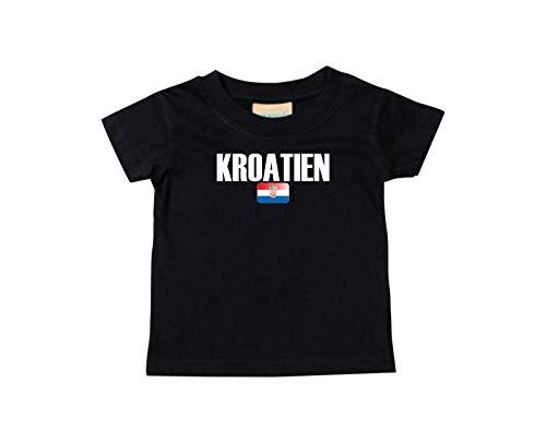 Shirtstown Bebé Niños Camiseta Fútbol Camiseta de País Croacia: Amazon.es: Ropa y accesorios