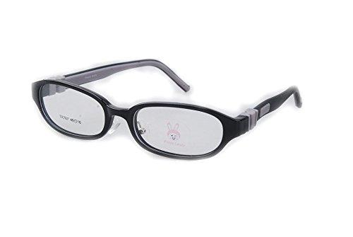 Kids Eyeglasses Bendable Plano Lenses Size 49mm, Children Eyewear, Silicone TR90 Teens Glasses, Unbreakable & Light - Plano Eyeglasses
