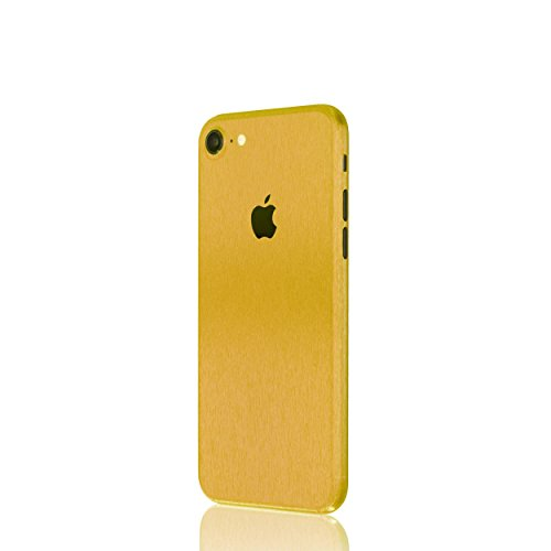 AppSkins Rückseite iPhone 7 Full Cover - Metal pure gold