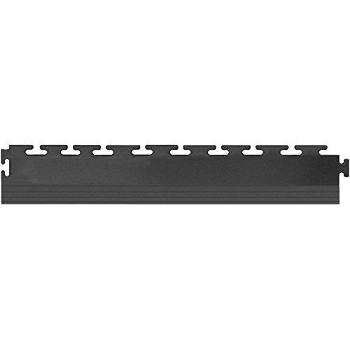 Blue Hawk 4-Pack 2.5-in x 20-in Dark Gray Loose Lay PVC Plastic Tile