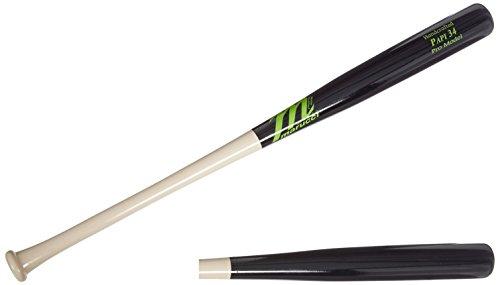 Model Wood Bat - Marucci PAPI34 Pro Model Maple Wood Baseball Bat, Natural/Black, 31-Inch