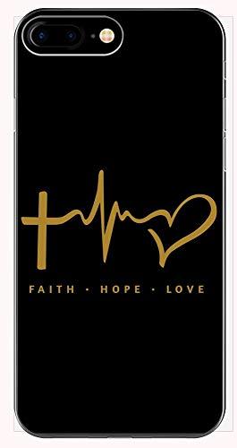Faith Love Treasure By (Faith Hope Love - Phone Case for iPhone 6+, 6S+, 7+, 8+)