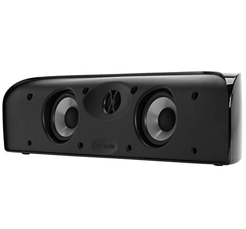 Polk Audio Blackstone TL1 Speaker Center Channel with Time Lens Technology   Compact Size, High Performance, Powerful…