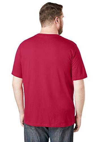 KingSize Men's Big & Tall Shrink-Less Lightweight Crewneck T-Shirt