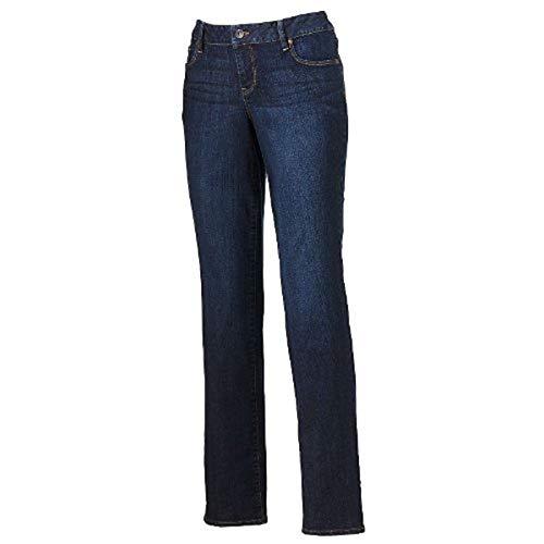 SONOMA life + style Modern Fit Straight-Leg 2 Average/Regular Jeans - Women's