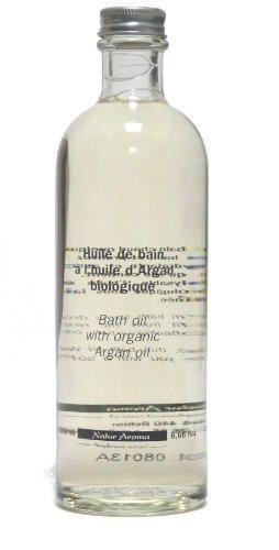 Arganöl Feuchtigkeitspflege Badeöl, 200 ml Flasche - trockene, reife & empfindliche Haut (Anti Aging Eigenschaften)