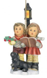 M.I. Hummel Christmas Ornament (Wintertime Duet)