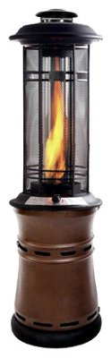 The Inferno Central Flame LP Gas Patio Heater Finish: (Best Inferno Patio Heater)
