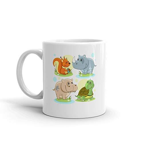 (Animals Part 2 Mug 11 Oz White Ceramic)