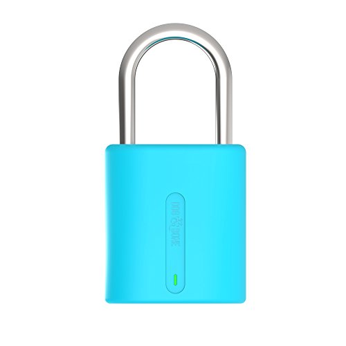 Dog & Bone Locksmart Mini - Candado Bluetooth sin llave, candado inteligente, color negro