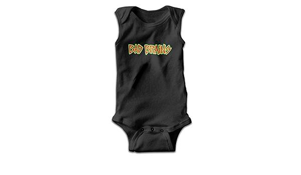 Thomahoms Bad Brains Baby Boy Cotton Sleeveless Onesies Bodysuits