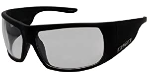 DSO GREED LIMITED Sunglasses - Matte Black / Clear Lens