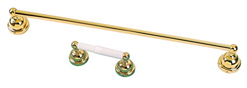 Gold 24 Inch Towel Bar (Bathroom Accessories, 24