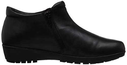 Women's Boot Cradles Leather Ankle Walking Black Nappa Zeno BwTHSSOq