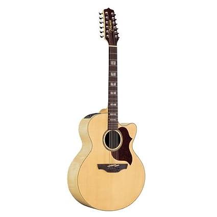 Takamine G Series eg523sc-12 Jumbo acústica de 12 cuerdas para guitarra eléctrica, color