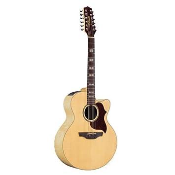 Takamine G Series eg523sc-12 Jumbo acústica de 12 cuerdas para guitarra eléctrica, color natural: Amazon.es: Instrumentos musicales
