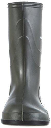 Dunlop - Botas de material sintético para mujer Verde (Dark Grey/grey/red)