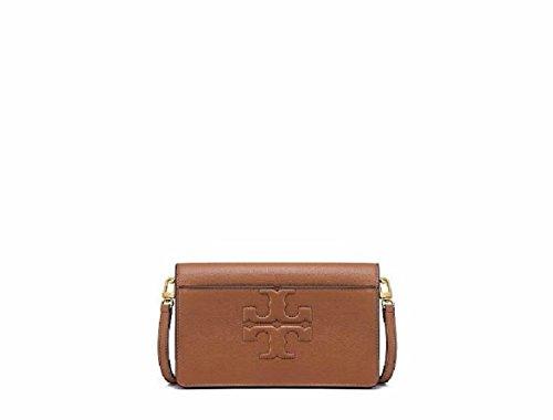 Small Cross T Leather Women's Burch Bark Handbag Body Bombe Logo Bag Tory waYSIq