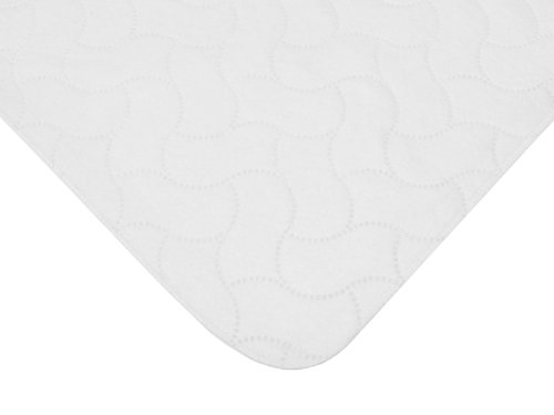 American Baby Company Waterproof Embossed Quilt-Like Flat Bassinet Protective Pad Cover