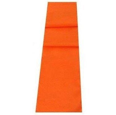 Camino de mesa, color naranja, Lino, Naranja, 132 x 30 cm (52 x 12 ...