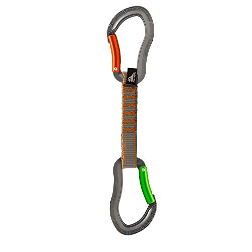 Fusion Climb Techno Zoom Bent Gate Key Nose Caribiners Ultra-Light Quickdraw BG/BG-11CM by Fusion