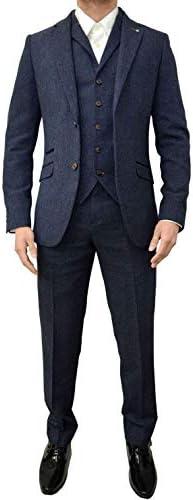 スーツ メンズ スリーピース スリム カジュアル 無地 紳士 ビジネス 結婚式 礼服 防シワ 大きいサイズ