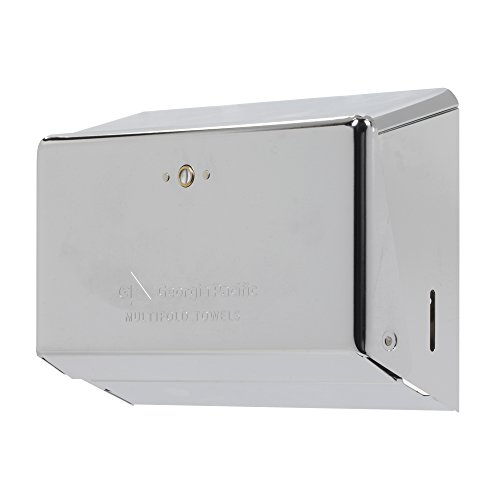 Multi-Fold Paper Towel Dispenser by GP PRO (Georgia-Pacific), Chrome, 54720,11.63