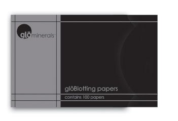 [gloMinerals Blotting Papers 100 ct.] (Glominerals Tools)