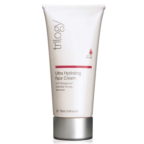 Trilogy Ultra Hydrating Face Cream for Unisex, 2.5 Ounce