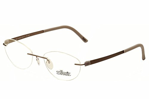 Silhouette Eyeglasses Titan Accent Chassis 5452 6056 Optical Frame 21x140mm ()