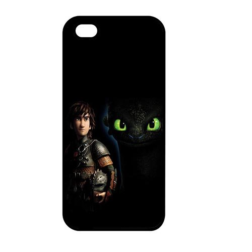 Coque,Unique Hard Phone Cover Case Covers for Coque iphone SE/Coque iphone 5/Coque iphone 5S, Japanese Cartoon How to Train Your Dragon Design