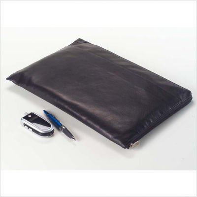 (Tuscan Under the Arm Folder Holder in Black Customize: Yes)