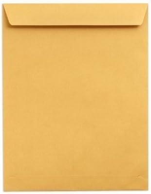 10x C7 Ribbed Envelopes Kraft paper 82 x 113 mm