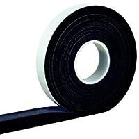 5,6 m compressieband acryl 300 15/6, grijs bandbreedte 15 mm, uitgezet van 6 tot 30 mm, bronband/voegenafdichtingstape…
