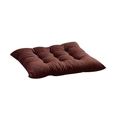 ????HuiKai????Indoor Outdoor Garden Patio Home Kitchen Office Chair Seat Cushion Pads (Coffee): Sports & Outdoors
