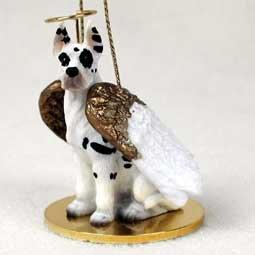 Great Dane Angel Dog Ornament - Harlequin ()
